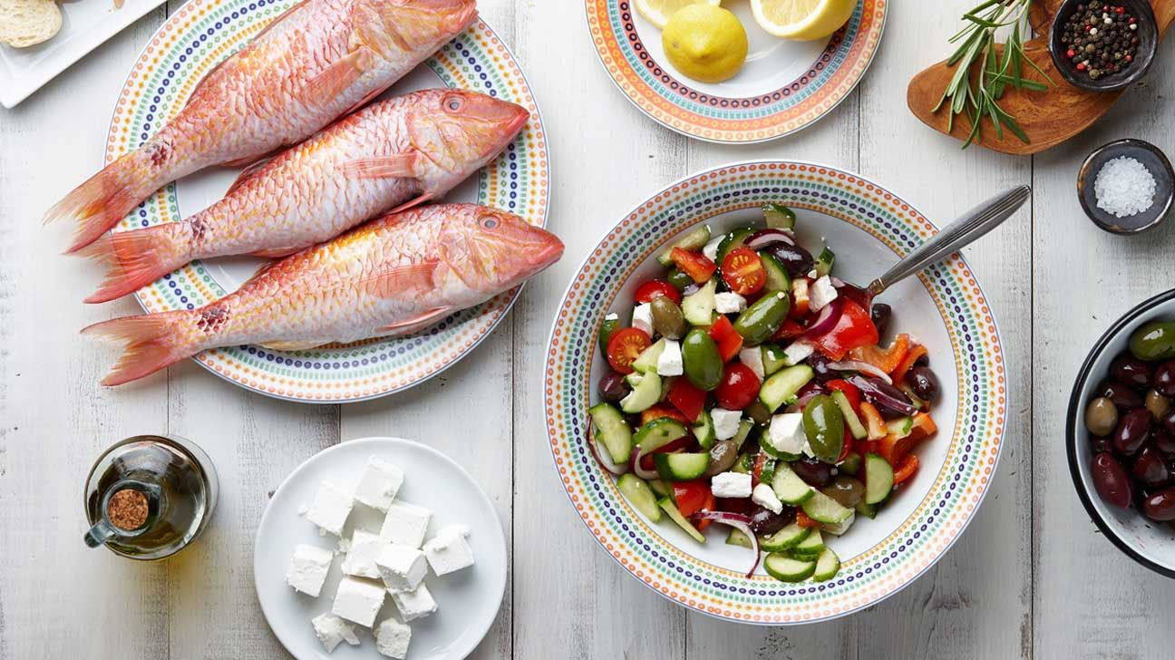 Mediterranean diet, the solution for long leaving