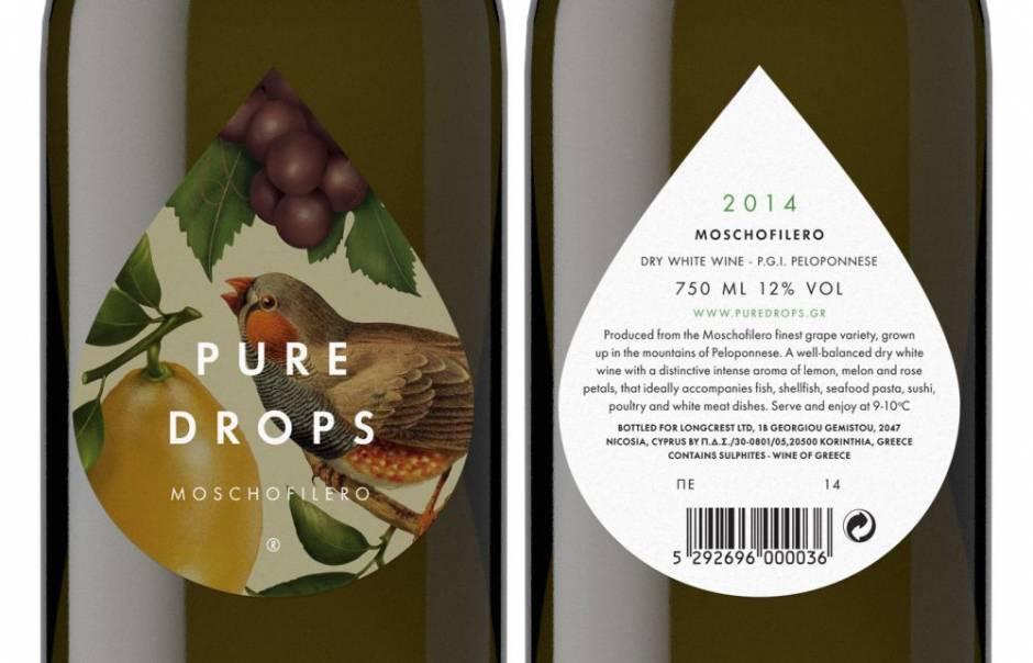 Pure Drops White Wine