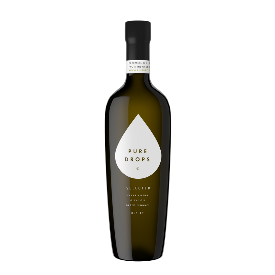 Pure Drops Extra Virgin Olive Oil Selected