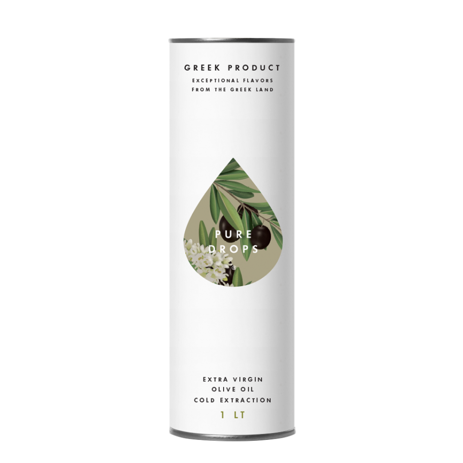 Pure Drops Extra Virgin Olive Oil 1LT