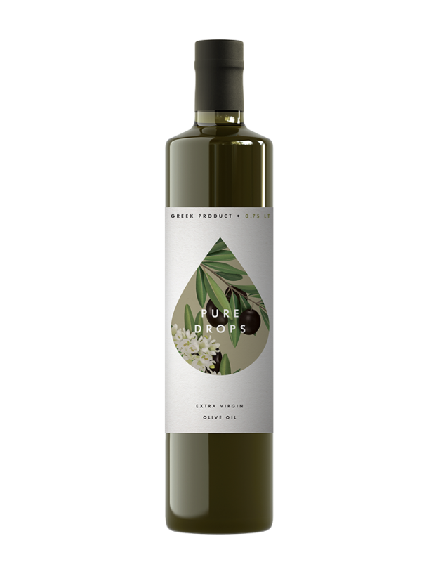 Pure Drops Extra Virgin Olive Oil 750ml