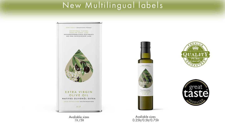 Multilingual new labels